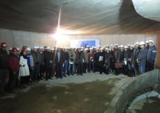 حضور مدیران و مهندسان سازمان نظام مهندسی در پروژه هتل فرشته پاسارگاد جهت بازدید از مراحل احداث پروژه