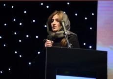 سخنرانی سارا شیخ اکبری نماینده شرکت زاها حدید و دکتر حامد دسترنج در سمینار سرمایه گذاری هتل و گردشگری