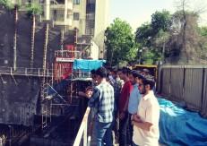 بازدید دانشجویان دانشگاه امیرکبیر از پروژه هتل فرشته پاسارگاد