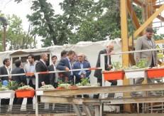 "Visit of Governor of Tehran Province of Fereshteh Pasargad Hotel"", Site Plan"