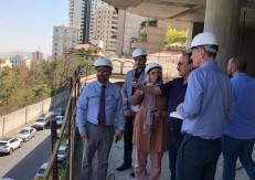 USA National Radio Visited Fereshteh Pasargad Hotel